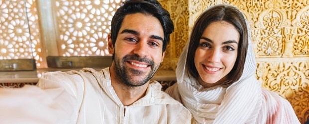 couple de personnes égyptiennes