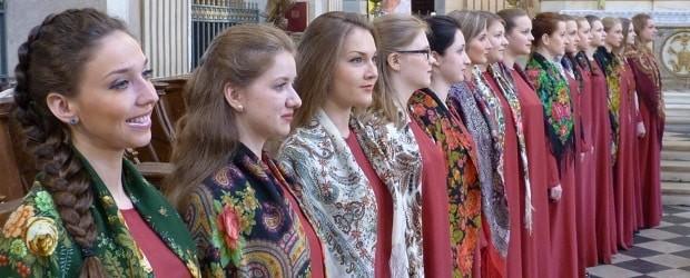 Femmes religieuse à Saint-Pétersbourg