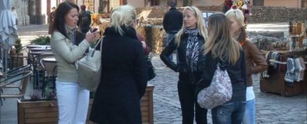 sfemmes de Lettonie en extérieur