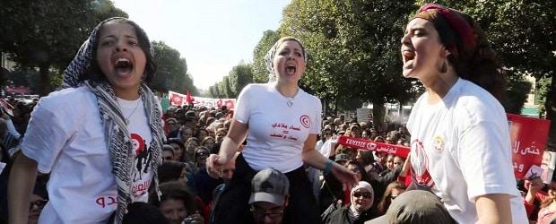 Manifestations de femmes tunisiennes