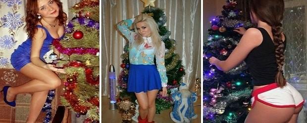 filles slaves à Noël