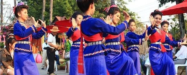 Danse traditionnelle en Thaïlande