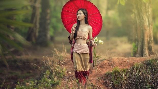 drague d'une fille en Thaïlande