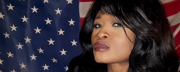 fille américaine de couleur noire