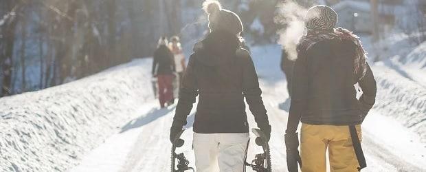 femmes du Québec aux sports d'hiver