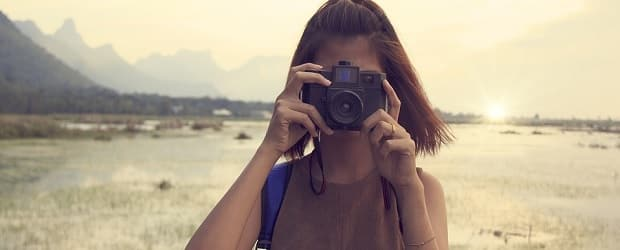 fille finlandaise photographe
